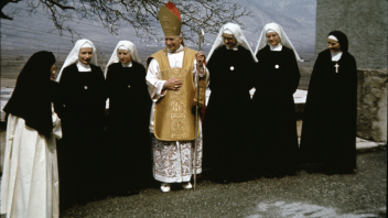 Some of the Earliest Sisters Taking the Habit